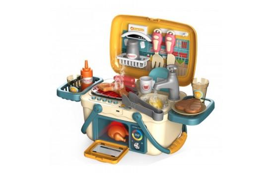 美味燒烤派對 - 角兒扮演兒童玩具