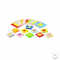 水果拼圖及英文單字學習卡