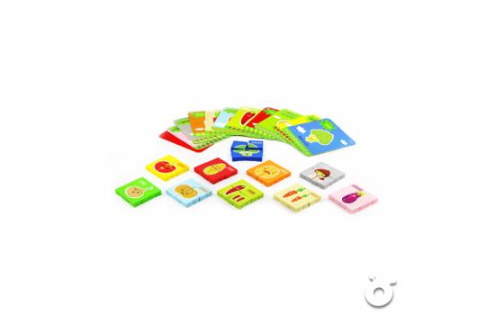 蔬菜拼圖及英文單字學習卡