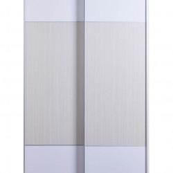 Dolce Plus 39.4寸白橡木色配白色雙趟門衣櫃