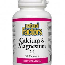 Calcium Magnesium 2:1 Plus D3 90v